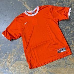Nike Team Tiempo Soccer Jersey Vintage Orange S